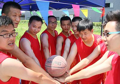 成都壹品欧迪家具有限公司 第二届文化节-篮球比赛