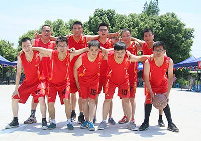 壹品欧迪办公家具第二届文化节篮球比赛