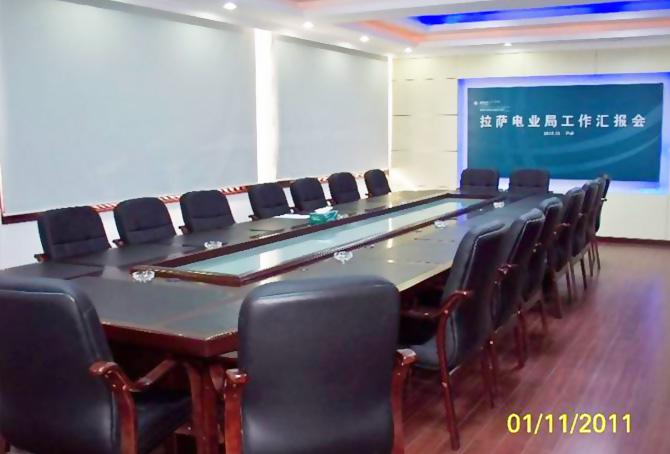 西藏电力公司拉萨电业局办公家具-壹品欧迪办公家具工程案例