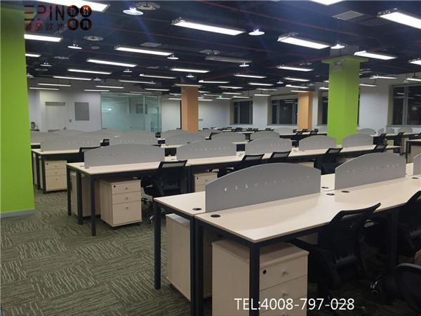 安科思科技有限公司职员区办公家具——壹品欧迪工程案例