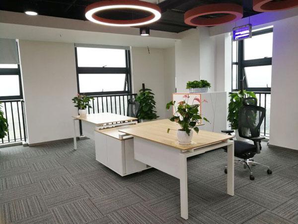办公家具与地板的颜色怎么搭配好看?听听办公家具厂家壹品欧迪的建议