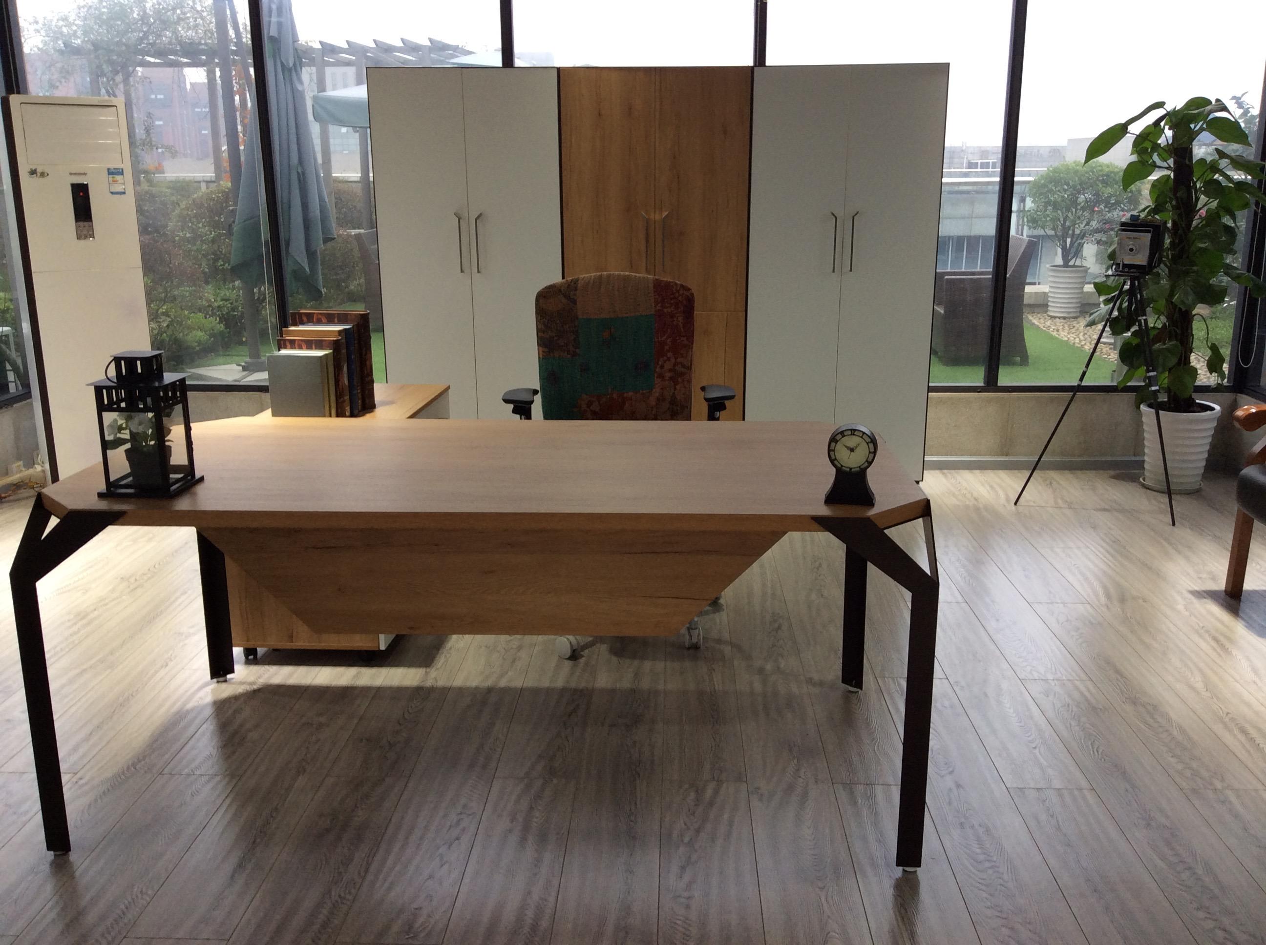 """""""迈洋""""系列-木纹办公家具"""