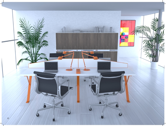 职员桌|职员办公桌|迈洋系列